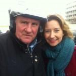 Gérard Depardieu & Caroline Klaus