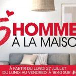 5 HOMMES A LA MAISON