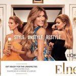 Caroline Klaus Comédienne Voix Off Pub TV Elnett de l'Oréal avec Céline Dion