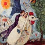 """Caroline Klaus Comédienne Voix Off """"Quèsaco"""" TV5MONDE & Le Centre Pompidou """"Les mariés de la tour Eiffel"""" de Marc Chagall"""